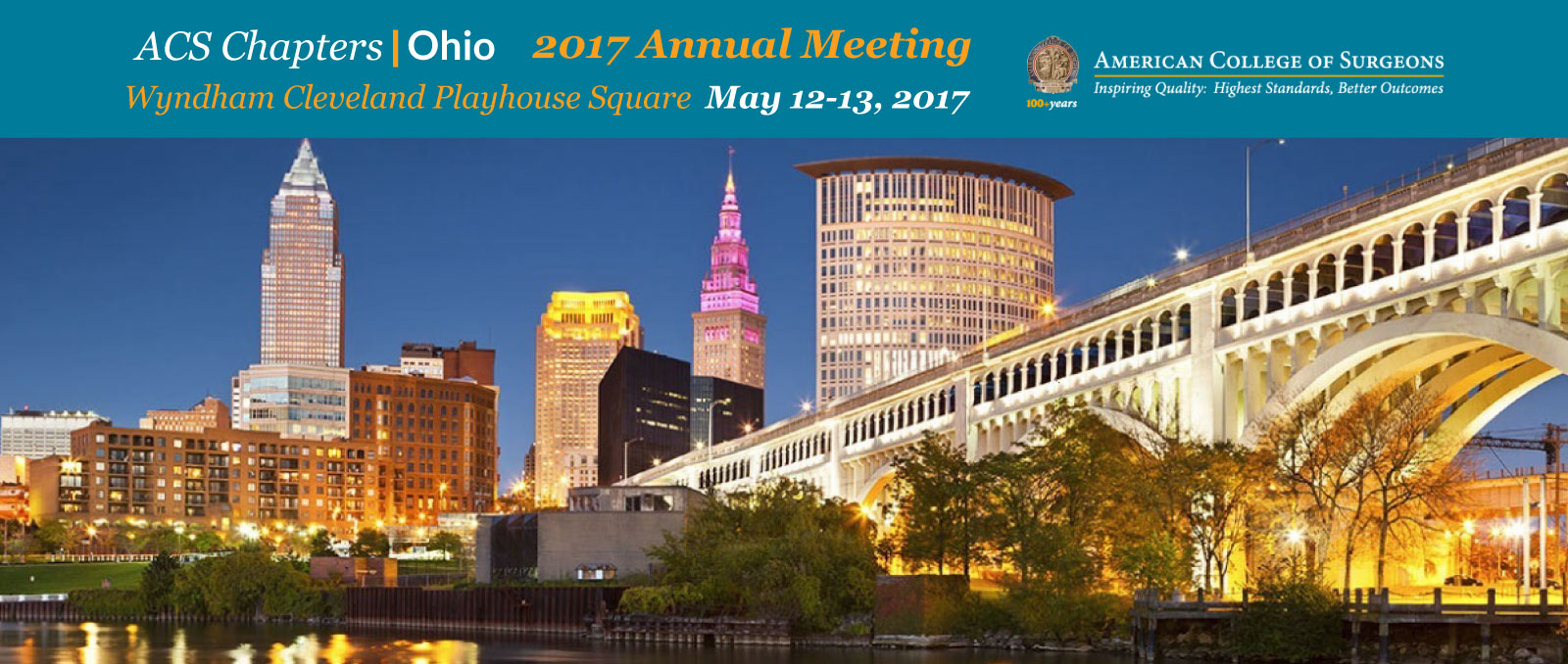 2017 annual meeting at Wyndham Cleveland Playhouse Square May 12 - 13 2017