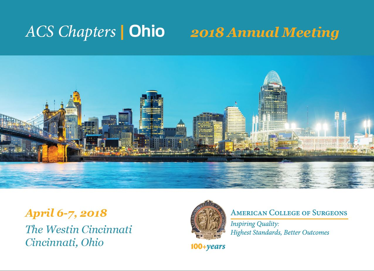2018 OCACS Annual Meeting - Join Us! - April 6-7, 2017